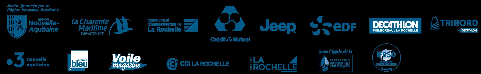 Les partenaires du Grand Pavois La Rochelle 2021